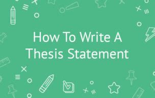 How to write your hypothesis in a research paper